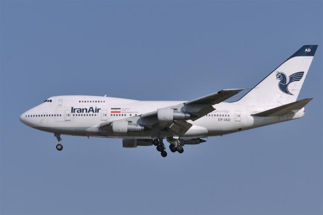 senyoさんが、成田国際空港で撮影したイラン航空 747SP-86の航空フォト(飛行機 写真・画像)