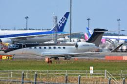 アルビレオさんが、成田国際空港で撮影した不明 G650 (G-VI)の航空フォト(飛行機 写真・画像)