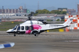 Wings Flapさんが、名古屋飛行場で撮影した日本法人所有 AW139の航空フォト(飛行機 写真・画像)