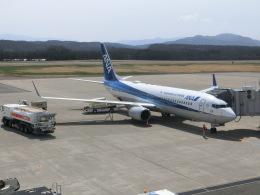 ヒロリンさんが、庄内空港で撮影した全日空 737-881の航空フォト(飛行機 写真・画像)