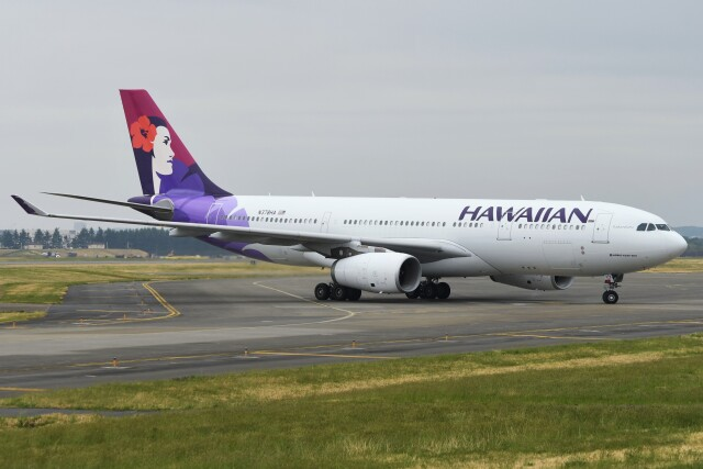 デルタおA330さんが、横田基地で撮影したハワイアン航空 A330-243の航空フォト(飛行機 写真・画像)