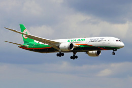 szkkjさんが、成田国際空港で撮影したエバー航空 787-9の航空フォト(飛行機 写真・画像)