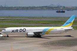 sky-spotterさんが、羽田空港で撮影したAIR DO 767-33A/ERの航空フォト(飛行機 写真・画像)