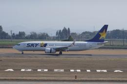 神宮寺ももさんが、鹿児島空港で撮影したスカイマーク 737-8FZの航空フォト(飛行機 写真・画像)