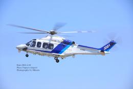 hikaruphotographさんが、名古屋飛行場で撮影したオールニッポンヘリコプター AW139の航空フォト(飛行機 写真・画像)