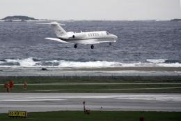 planetさんが、那覇空港で撮影した国土交通省 航空局 525C Citation CJ4の航空フォト(飛行機 写真・画像)