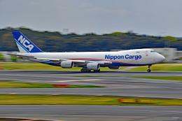 Souma2005さんが、成田国際空港で撮影した日本貨物航空 747-8KZF/SCDの航空フォト(飛行機 写真・画像)
