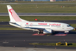 chrisshoさんが、デュッセルドルフ国際空港で撮影したチュニスエア 737-6H3の航空フォト(飛行機 写真・画像)