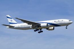 chrisshoさんが、フランクフルト国際空港で撮影したエル・アル航空 777-258/ERの航空フォト(飛行機 写真・画像)