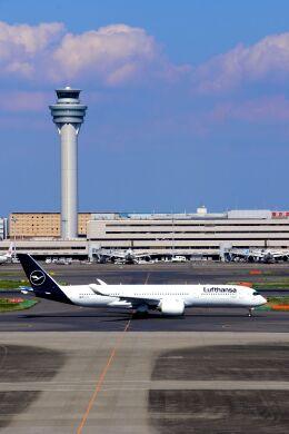 まいけるさんが、羽田空港で撮影したルフトハンザドイツ航空 A350-941の航空フォト(飛行機 写真・画像)