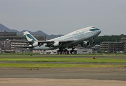 tsubameさんが、福岡空港で撮影したキャセイパシフィック航空 747-467の航空フォト(飛行機 写真・画像)
