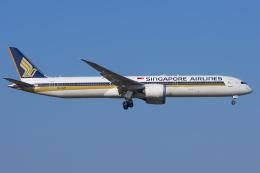 mameshibaさんが、成田国際空港で撮影したシンガポール航空 787-10の航空フォト(飛行機 写真・画像)