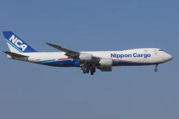 mameshibaさんが、成田国際空港で撮影した日本貨物航空 747-8KZF/SCDの航空フォト(飛行機 写真・画像)