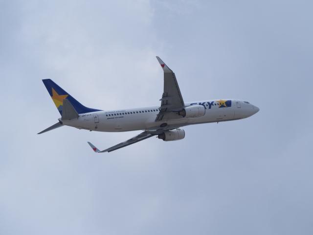 hirohirokinさんが、福岡空港で撮影したスカイマーク 737-8ALの航空フォト(飛行機 写真・画像)
