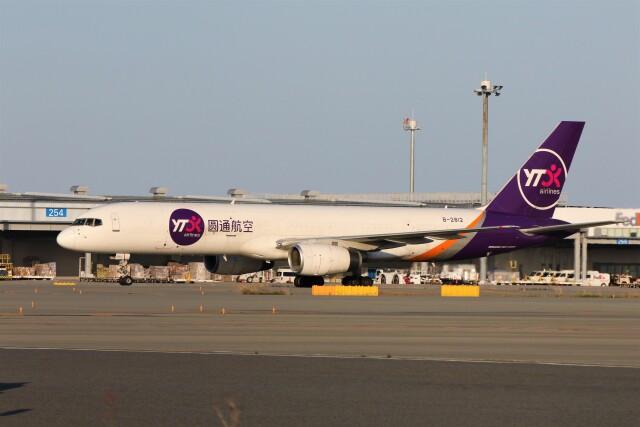 PW4090さんが、関西国際空港で撮影したYTOカーゴ・エアラインズ 757-28S(PCF)の航空フォト(飛行機 写真・画像)