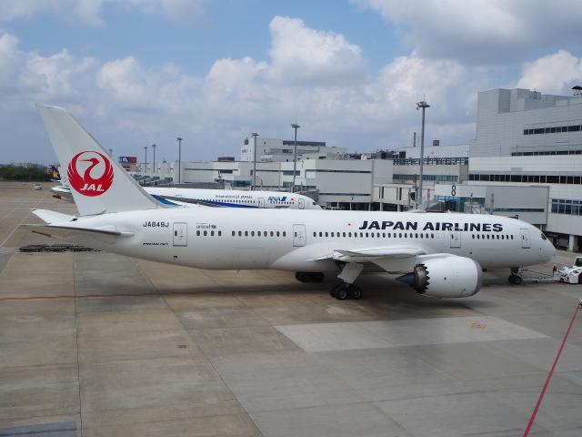 hirohirokinさんが、福岡空港で撮影した日本航空 787-8 Dreamlinerの航空フォト(飛行機 写真・画像)