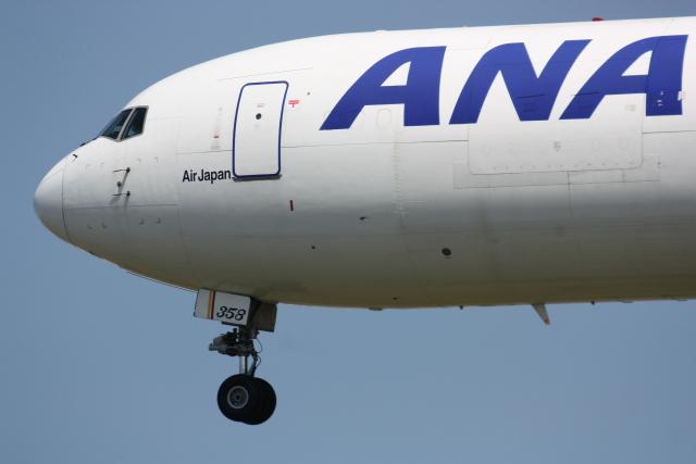 西麻布と焼売弁当さんが、成田国際空港で撮影した全日空 767-381/ER(BCF)の航空フォト(飛行機 写真・画像)