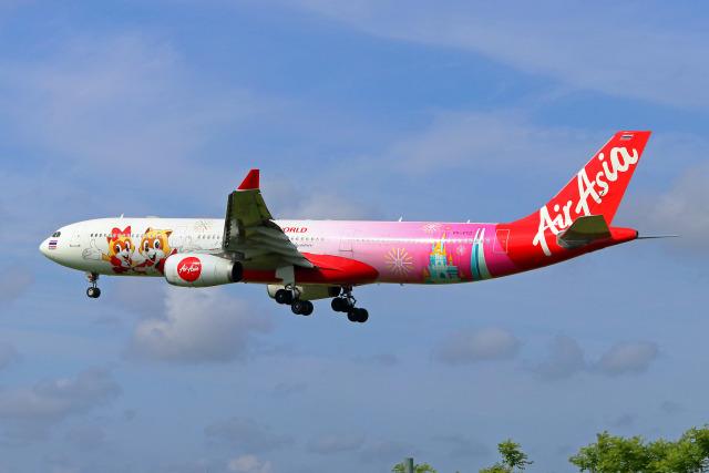 2019年06月04日に撮影されたタイ・エアアジア・エックスの航空機写真
