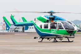 T spotterさんが、名古屋飛行場で撮影した兵庫県消防防災航空隊 BK117C-2の航空フォト(飛行機 写真・画像)