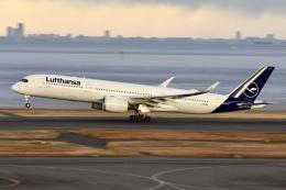のんきな人さんが、羽田空港で撮影したルフトハンザドイツ航空 A350-941の航空フォト(飛行機 写真・画像)
