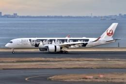 のんきな人さんが、羽田空港で撮影した日本航空 A350-941の航空フォト(飛行機 写真・画像)