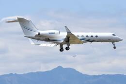 デルタおA330さんが、横田基地で撮影したTANNJETS AEROSPACE I LLC G-IV-X Gulfstream G450の航空フォト(飛行機 写真・画像)