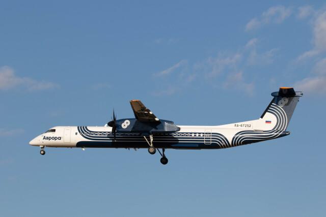 Kaaazさんが、成田国際空港で撮影したオーロラ DHC-8-402Q Dash 8の航空フォト(飛行機 写真・画像)