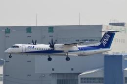 はやさんが、伊丹空港で撮影したANAウイングス DHC-8-402Q Dash 8の航空フォト(飛行機 写真・画像)