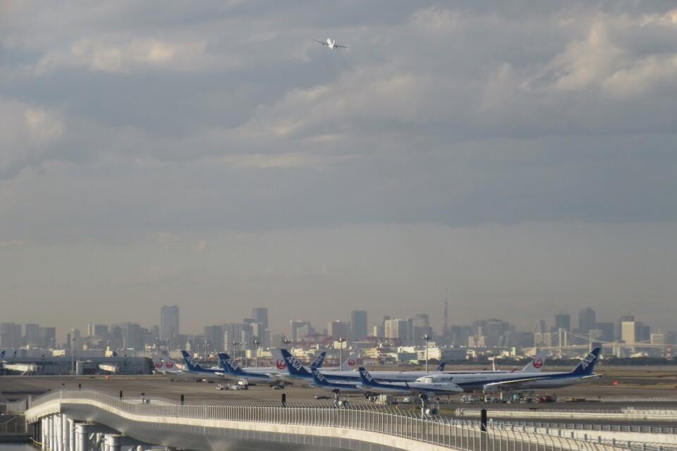 メンチカツさんの日本航空 Boeing 777-200 (JA8977) 航空フォト