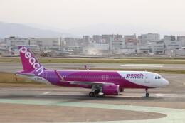 Yuseiさんが、福岡空港で撮影したピーチ A320-251Nの航空フォト(飛行機 写真・画像)