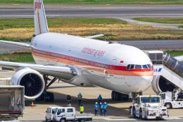 tkosadaさんが、羽田空港で撮影したガルーダ・インドネシア航空 777-3U3/ERの航空フォト(飛行機 写真・画像)