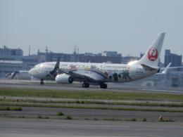 commet7575さんが、福岡空港で撮影した日本トランスオーシャン航空 737-8Q3の航空フォト(飛行機 写真・画像)