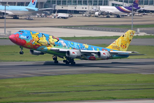 tsubameさんが、福岡空港で撮影した全日空 747-481(D)の航空フォト(飛行機 写真・画像)