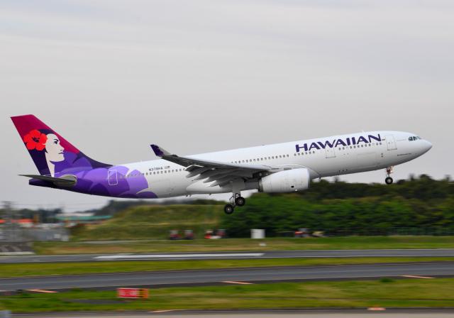 雲霧さんが、成田国際空港で撮影したハワイアン航空 A330-243の航空フォト(飛行機 写真・画像)