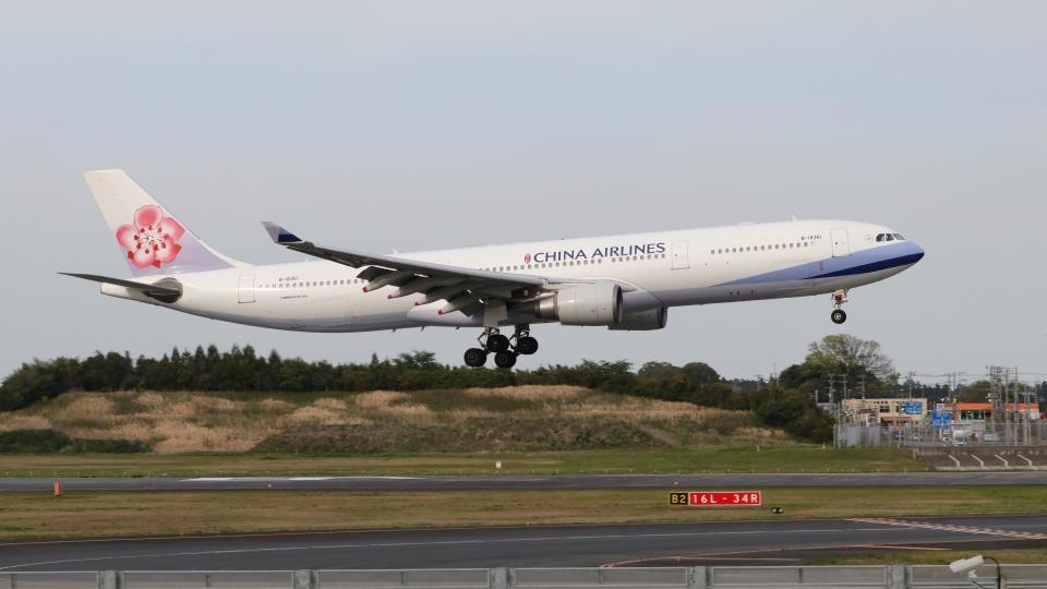 raichanさんのチャイナエアライン Airbus A330-300 (B-18361) 航空フォト