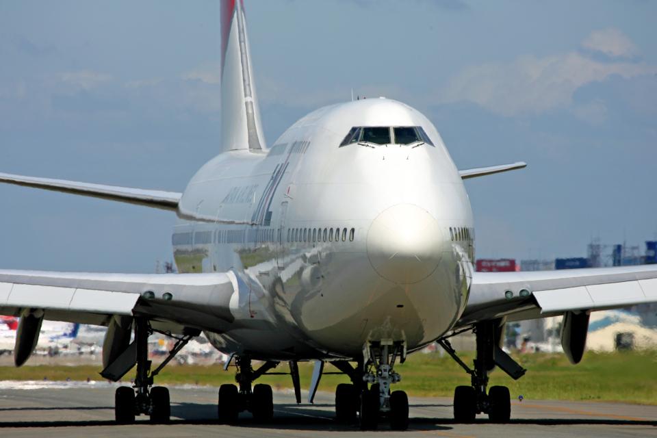 tsubameさんの日本航空 Boeing 747-400 (JA8908) 航空フォト