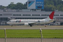 tsubameさんが、福岡空港で撮影した日本トランスオーシャン航空 737-4Q3の航空フォト(飛行機 写真・画像)