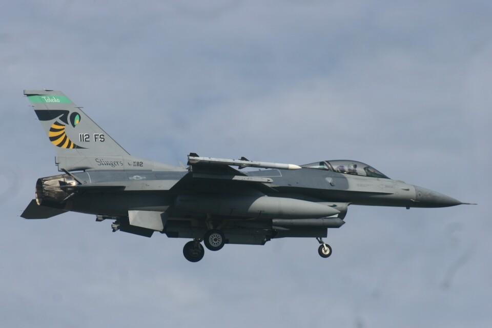 Mr.boneさんのアメリカ空軍 General Dynamics F-16 Fighting Falcon (89-2112) 航空フォト