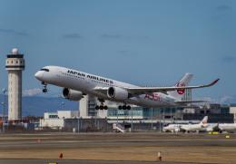 Cygnus00さんが、新千歳空港で撮影した日本航空 A350-941の航空フォト(飛行機 写真・画像)