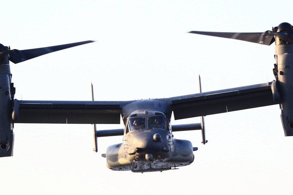 MH-38Rさんのアメリカ空軍 Bell Boeing V-22 (13-0069) 航空フォト
