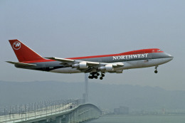 Gambardierさんが、関西国際空港で撮影したノースウエスト航空 747-212Bの航空フォト(飛行機 写真・画像)