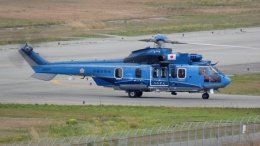 cathay451さんが、神戸空港で撮影したエアバス・ヘリコプターズ・ジャパン EC225LP Super Puma Mk2+の航空フォト(飛行機 写真・画像)