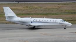 cathay451さんが、神戸空港で撮影したノエビア 680 Citation Sovereignの航空フォト(飛行機 写真・画像)