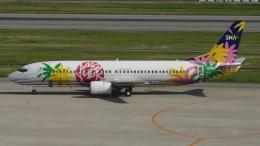 cathay451さんが、神戸空港で撮影したスカイネットアジア航空 737-43Qの航空フォト(飛行機 写真・画像)