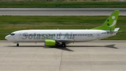 cathay451さんが、神戸空港で撮影したソラシド エア 737-43Qの航空フォト(飛行機 写真・画像)