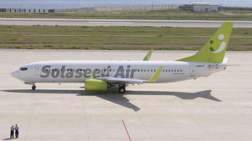 cathay451さんのソラシド エア Boeing 737-800 (JA807X) 航空フォト