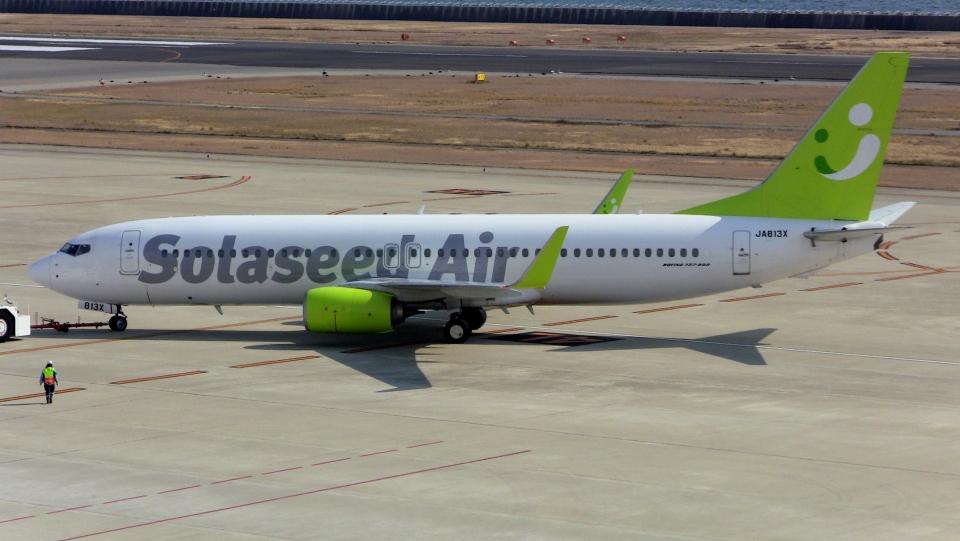 cathay451さんのソラシド エア Boeing 737-800 (JA813X) 航空フォト