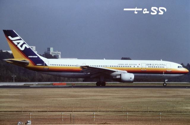 tassさんが、成田国際空港で撮影した日本エアシステム A300B4-622Rの航空フォト(飛行機 写真・画像)
