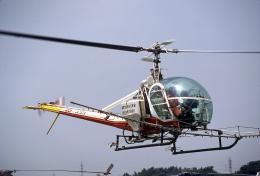 JAパイロットさんが、調布飛行場で撮影した日本農林水産航空協会 UH-12Eの航空フォト(飛行機 写真・画像)