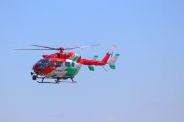 みのフォトグラファさんが、名古屋飛行場で撮影した岡山市消防航空隊 BK117C-2の航空フォト(飛行機 写真・画像)